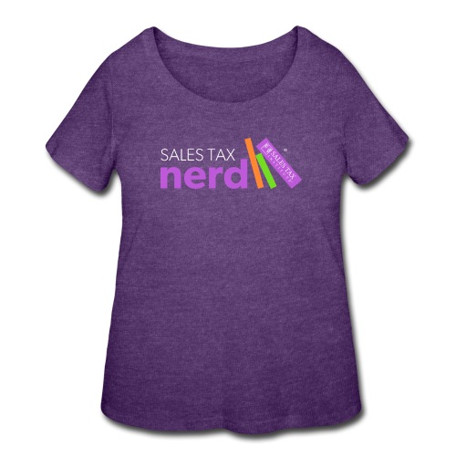 Sales Tax Nerd - Women's Curvy T-Shirt