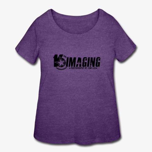 16IMAGING Horizontal Black - Women's Curvy T-Shirt