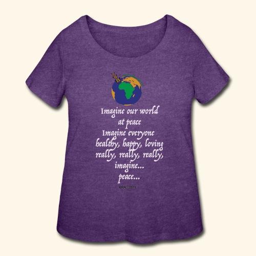 ImagineWH - Women's Curvy T-Shirt