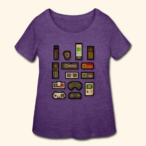 pixelcontrol - Women's Curvy T-Shirt