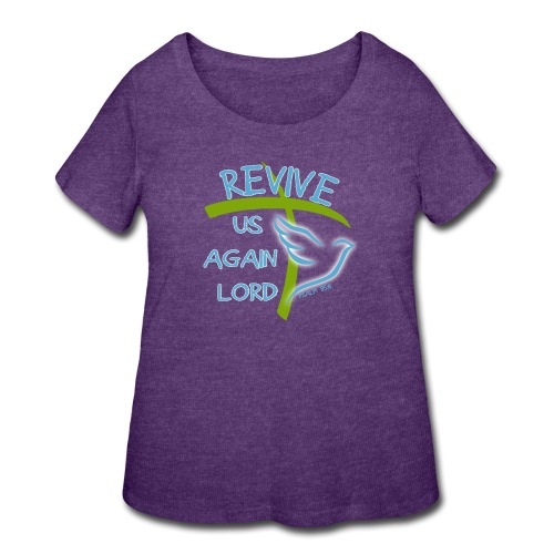 Revive us again - Women's Curvy T-Shirt