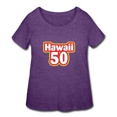 Hawaii 50 - Women's Curvy T-Shirt