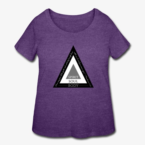 Spirit Soul Body - Women's Curvy T-Shirt