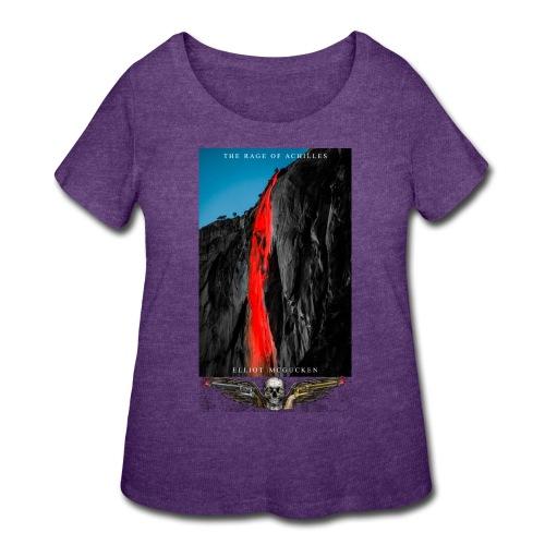The Rage of Achilles Yosemite Falls Skull'n'Wings - Women's Curvy T-Shirt