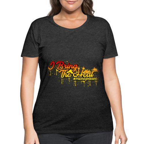 I Bring The Heat - Women's Curvy T-Shirt