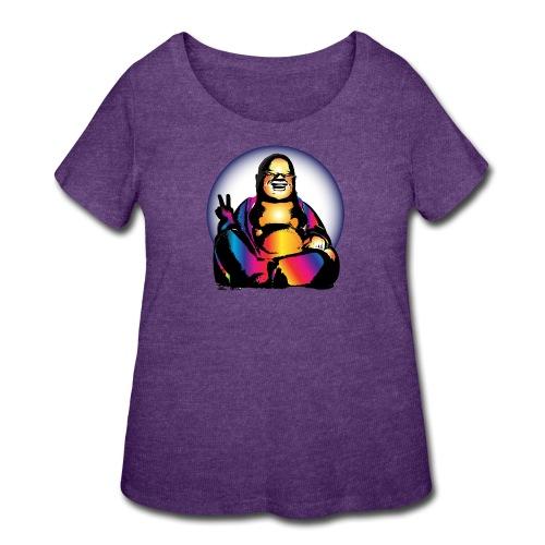 Cool Buddha - Women's Curvy T-Shirt