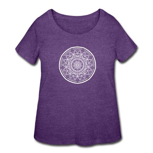 Circle No.1 - Women's Curvy T-Shirt
