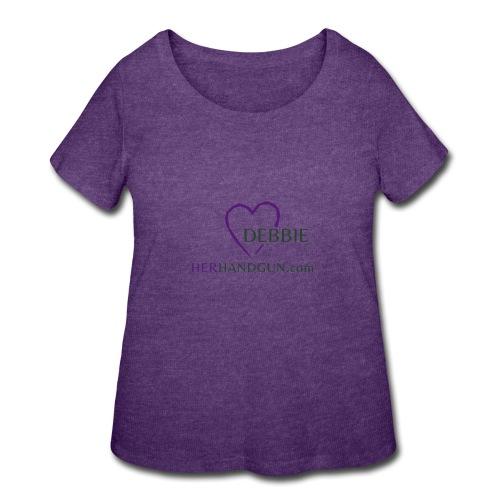 HerHandgun DEBBIE - Women's Curvy T-Shirt