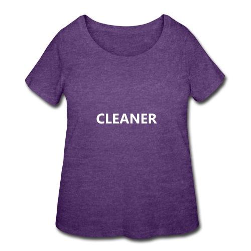 Cleaner - Women's Curvy T-Shirt