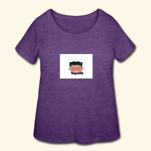 weiweigang logo edit - Women's Curvy T-Shirt