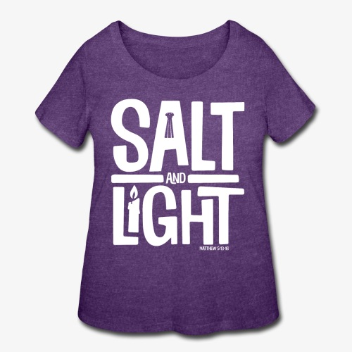 Salt + Light - Women's Curvy T-Shirt