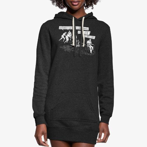 Governments fight against global warming! - Women's Hoodie Dress