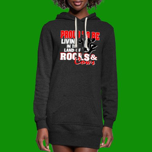 Livin' in the Land of Rocks & Cows - Women's Hoodie Dress