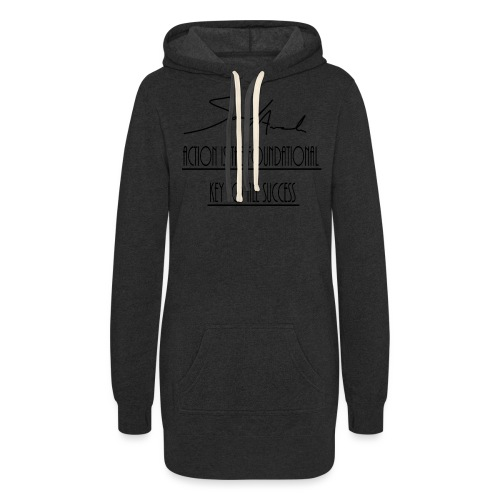 Action is the foundational key to all success - Women's Hoodie Dress