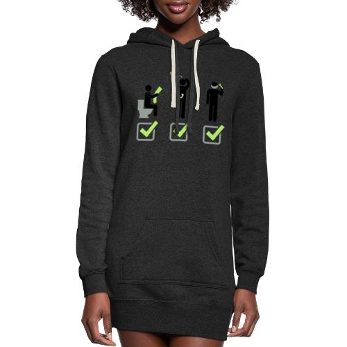 Shit Shower Shave - Women's Hoodie Dress