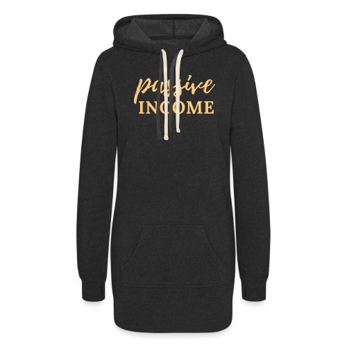 Passive Income - Lt. Gold - Women's Hoodie Dress