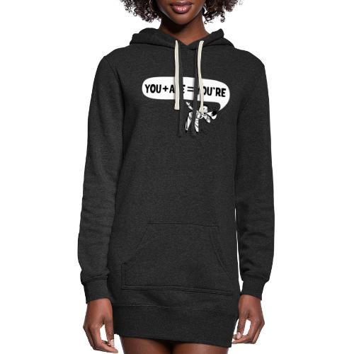 Your an Idiot - Women's Hoodie Dress