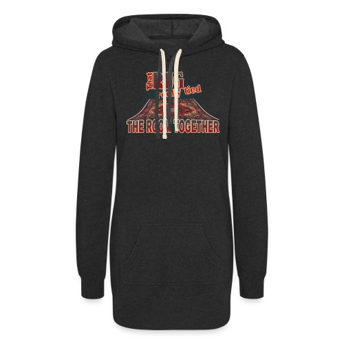 That Rug Really Tied the Room Together - Women's Hoodie Dress
