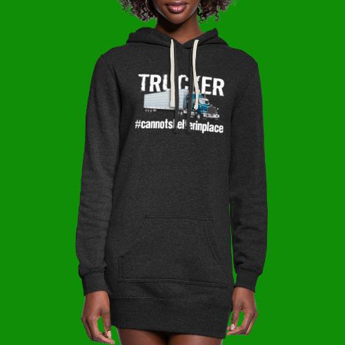 Cannot Shelter In Place - Women's Hoodie Dress