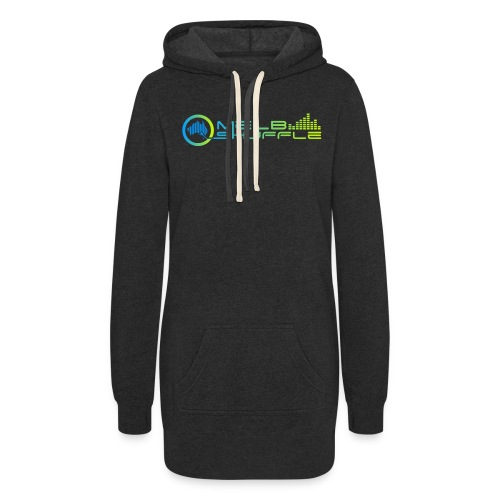 Melbshuffle Gradient Logo - Women's Hoodie Dress