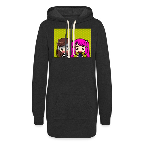 Phone case merch of jazzy and raven - Women's Hoodie Dress