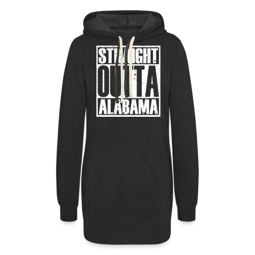 Straight Outta Alabama - Women's Hoodie Dress