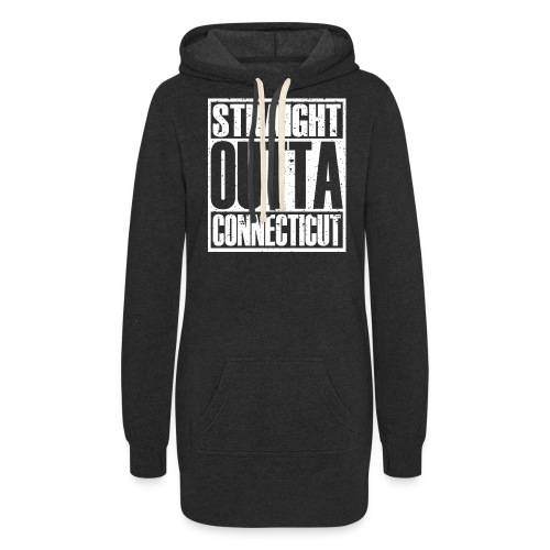 Straight Outta Connecticut - Women's Hoodie Dress