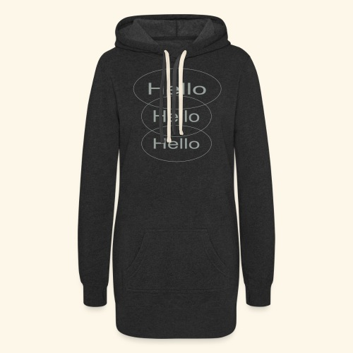 hello - Women's Hoodie Dress