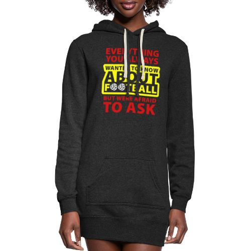 Every thing about football - Women's Hoodie Dress