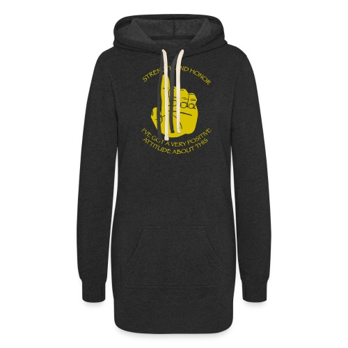 Positive Attitude - Women's Hoodie Dress