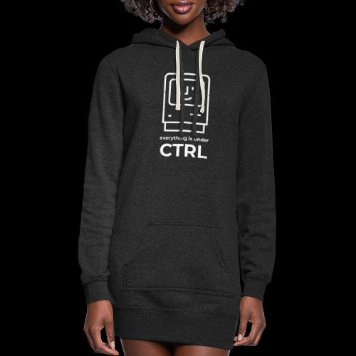 Everything is Under CTRL | Funny Computer - Women's Hoodie Dress