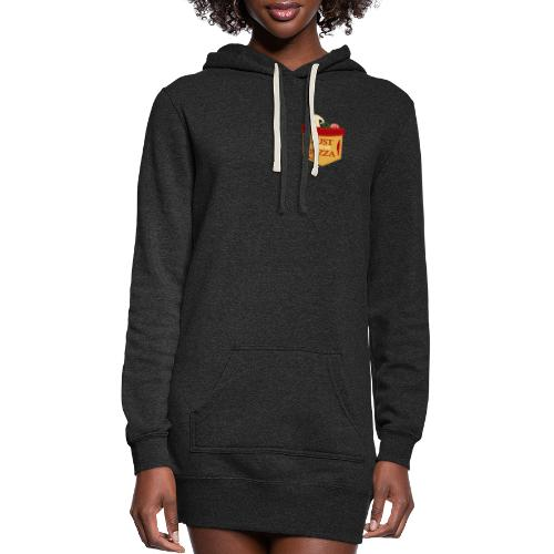 Just feed me pizza - Women's Hoodie Dress