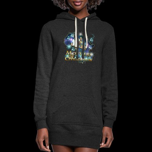 Mothers of Civilization - Women's Hoodie Dress