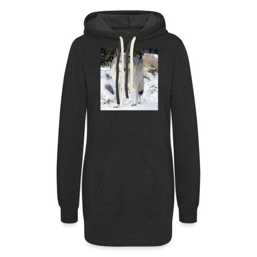 Canis lupus occidentalis - Women's Hoodie Dress