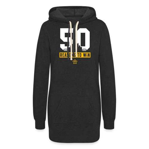 50reasons_final.png - Women's Hoodie Dress