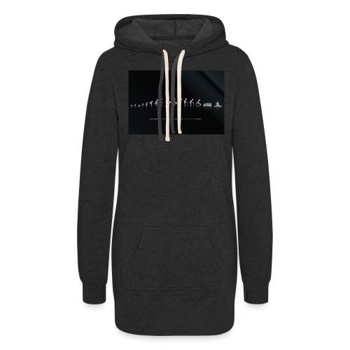 DIFFERENT STAGES OF HUMAN - Women's Hoodie Dress