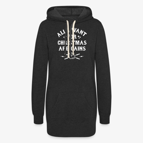 All I Want For Christmas Are Gains - Women's Hoodie Dress