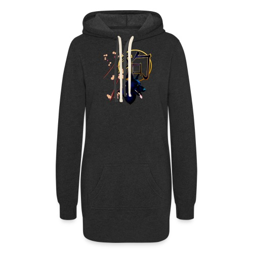 The Year Of The Dog-black - Women's Hoodie Dress
