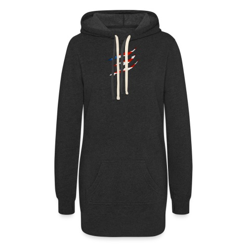3D American Flag Claw Marks T-shirt for Men - Women's Hoodie Dress