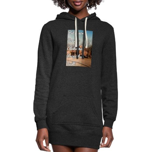 Paterson Born Alabama Projects Built - Women's Hoodie Dress