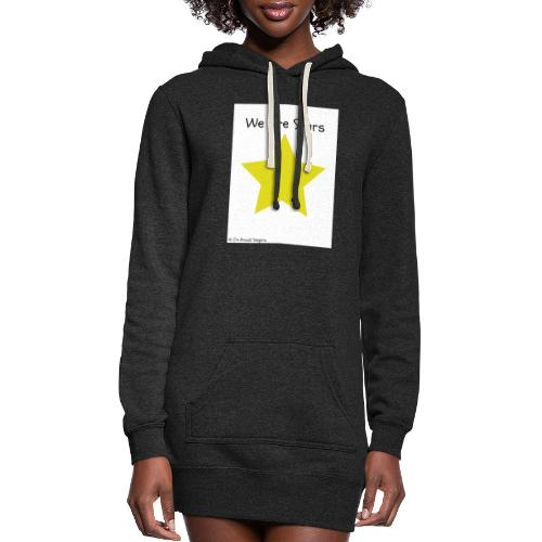 Hi I'm Ronald Seegers Collection-We Are Stars - Women's Hoodie Dress