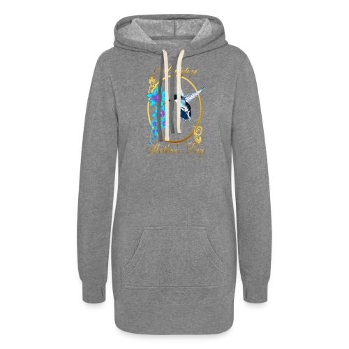 Mother's Day with humming birds - Women's Hoodie Dress