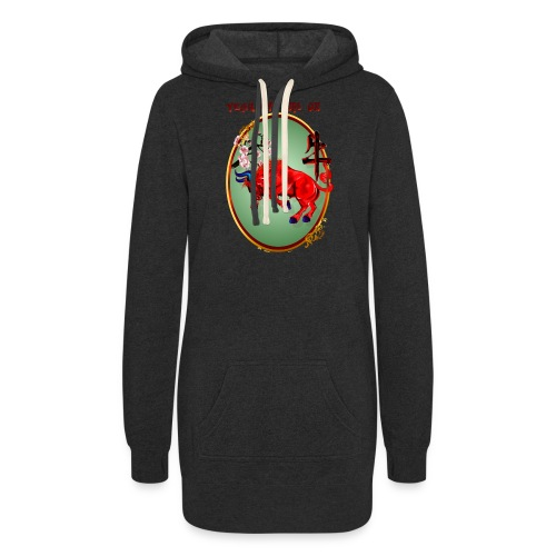 The Red Ox Oval - Women's Hoodie Dress