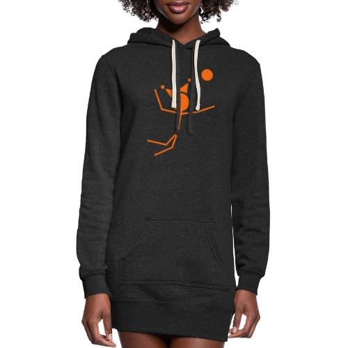 Volleyball King - Women's Hoodie Dress