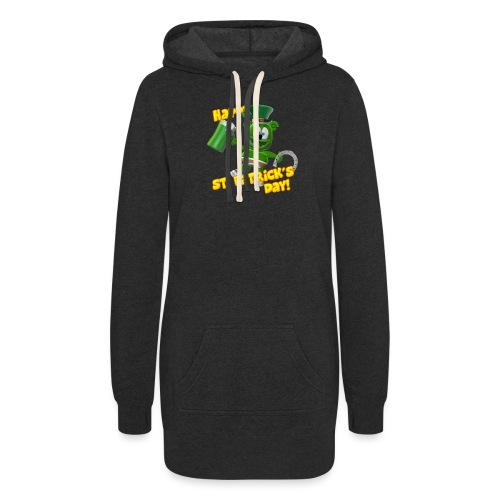 Gummibär (The Gummy Bear) Saint Patrick's Day - Women's Hoodie Dress