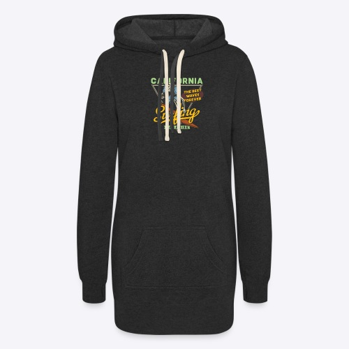 California Surfing Paradise - Women's Hoodie Dress