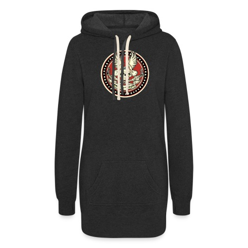 Brush With Death - Women's Hoodie Dress