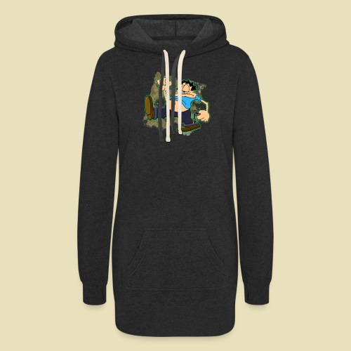 Ongher's UFO Ongher March - Women's Hoodie Dress