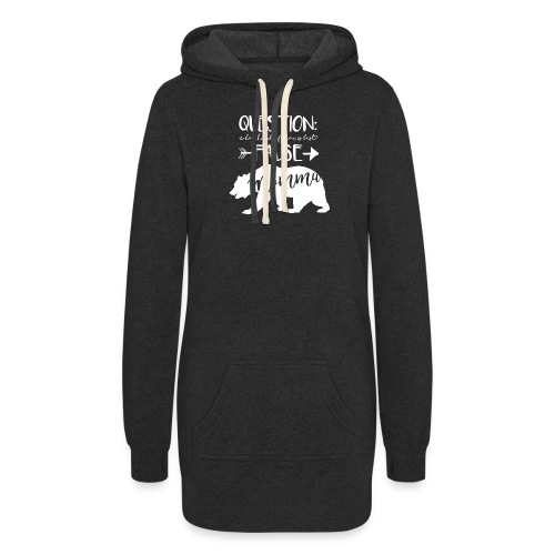 Momma Bear - Polar - Women's Hoodie Dress