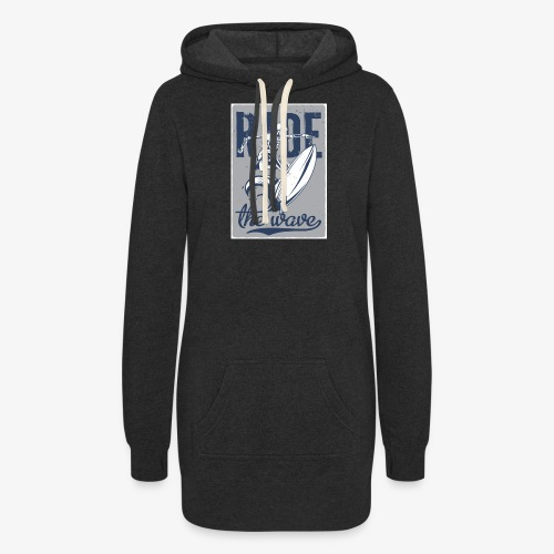 Ride the wave - Women's Hoodie Dress